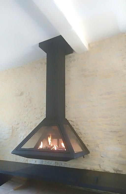 Photo cheminée métallique Vyrosa Altea