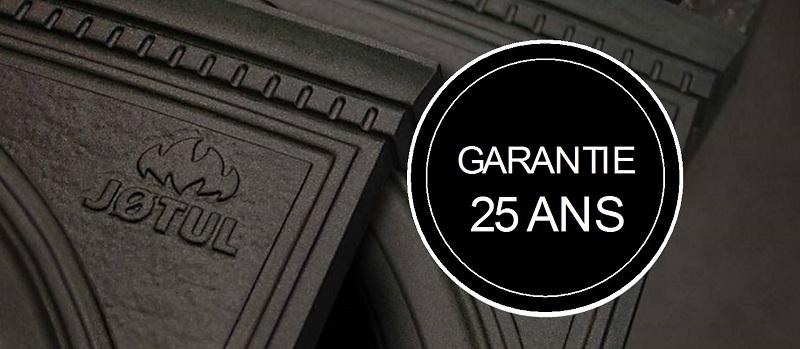 Garantie 25 ans, la plus longue du marché